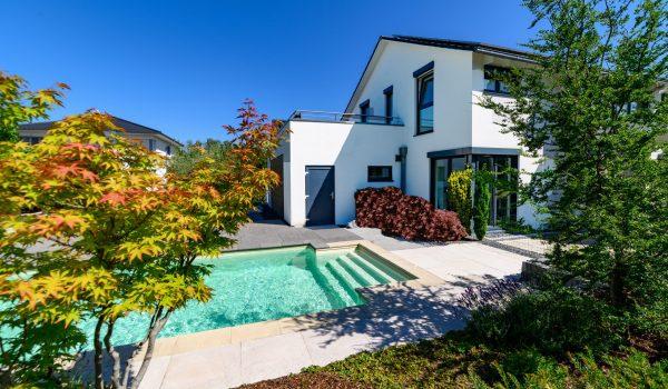 Einfamilienhaus mit Pool, hochwertig